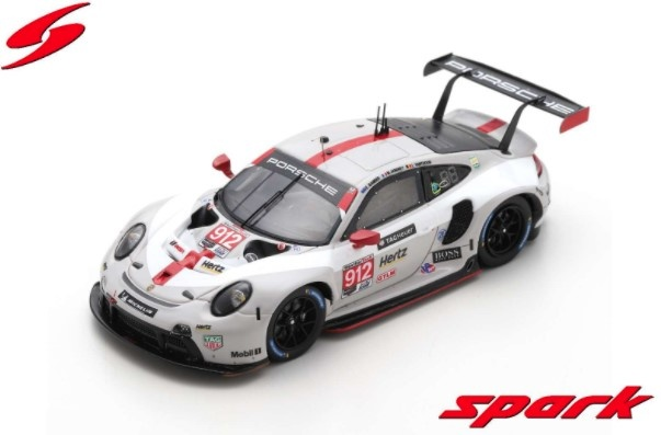 Spark 1/43 ポルシェ 911 RSR #912 Porsche GT Team 2020 デイトナ24H GTLM クラス2位 E.Bamber / M.Jaminet / L.Vanthoor