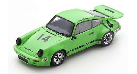 <予約 2021/1月下旬発売予定> Spark 1/43 Porsche RS 3.0 No.14 IROC Riverside 1973 Emerson Fittipaldi