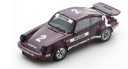 <予約 2021/1月下旬発売予定> Spark 1/43 Porsche RS 3.0 No.2 2nd IROC Daytona 1974 Peter Revson
