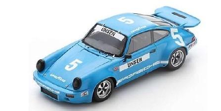 <予約 2021/1月下旬発売予定> Spark 1/43 Porsche RS 3.0 No.5 3rd IROC Daytona 1974 Bobby Unser