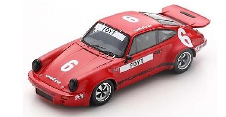 <予約 2021/1月下旬発売予定> Spark 1/43 Porsche RS 3.0 No.6 6th IROC Daytona 1974 Anthony Joseph Foyt