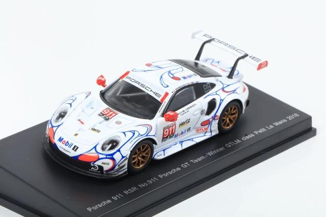 [Spark] 1/64 Porsche 911 RSR No.911 Porsche GT Team Winner GTLM class Petit Le Mans 2018