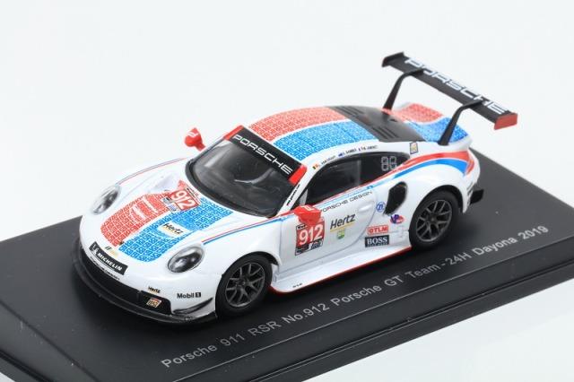 [Spark] 1/64 Porsche 911 RSR No.912 Porsche GT Team 24H Daytona 2019