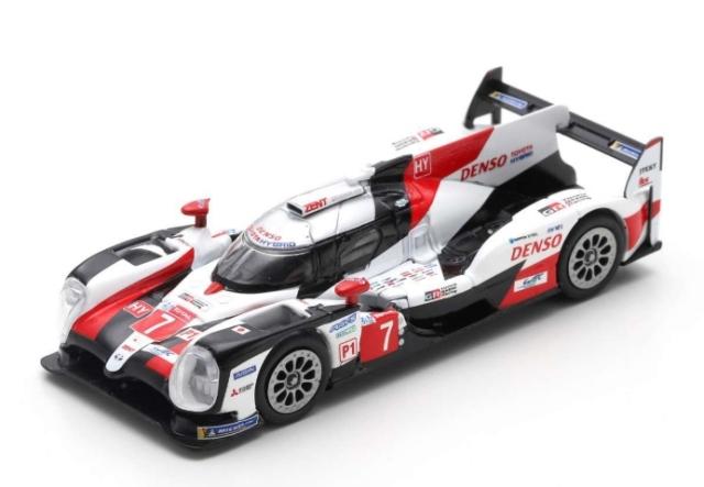 spark 1/64 TOYOTA TS050 HYBRID No.7 TOYOTA GAZOO Racing  2nd 24H Le Mans 2019   M. Conway - K. Kobayashi - J. M. L?pez