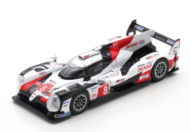 spark 1/64 TOYOTA TS050 HYBRID No.8 TOYOTA GAZOO Racing  Winner 24H Le Mans 2019   S. Buemi - K. Nakajima - F. Alonso