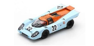 <予約 2021/2月発売予定> Spark 1/64 Porsche 917 K No.22 24H Le Mans 1970 M. Hailwood - D. Hobbs