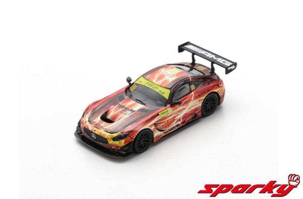 Spark 1/64 Mercedes-AMG GT3 No.888 9th FIA GT World Cup Macau 2019 Maro Engel