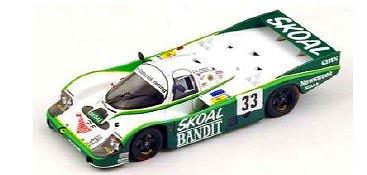 Spark 1/64 Porsche 956 No.33 3rd 24H Le Mans 1984 D. Hobbs - P. Streiff - S. van der Merwe