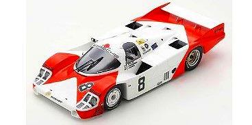 Spark 1/64 Porsche 956 No.8 6th 24H Le Mans 1983 B. Wollek - K. Ludwig - S. Johansson