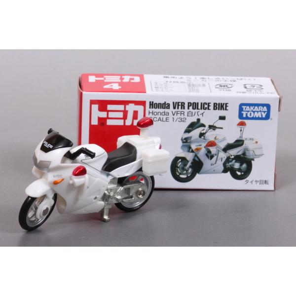 【トミカ】 No.4 Honda VFR 白バイ