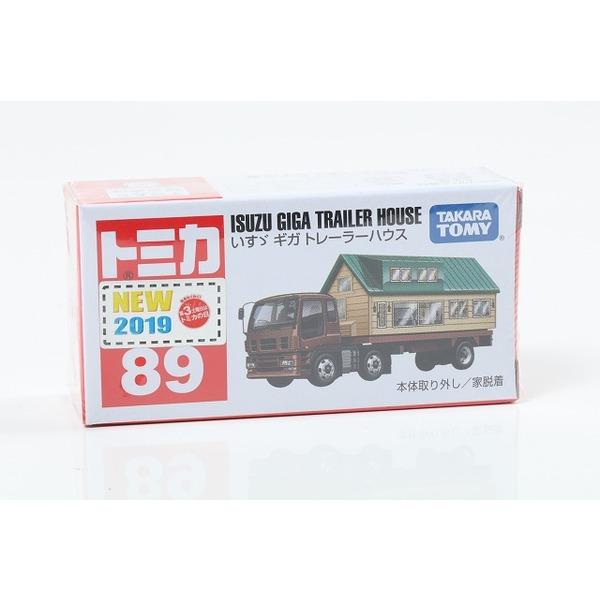 【トミカ】 No.89 いすゞ ギガ トレーラーハウス