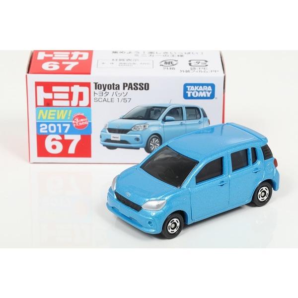 【トミカ】 No,67 トヨタ パッソ [絶販]