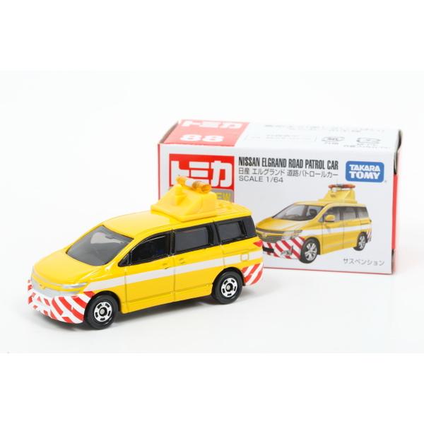【トミカ】 No.88 日産 エルグランド 道路公団パトロールカー