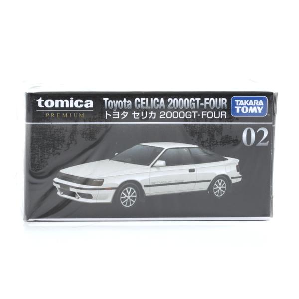 【トミカ プレミアム】 No,02 トヨタ セリカ 2000GT-FOUR