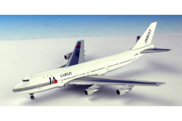 B747-100 JAL日本航空 JAカーゴ 1:500