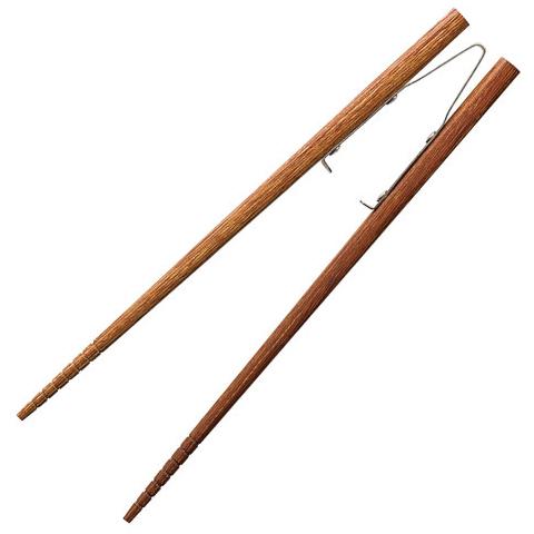 楽々箸 ピンセットタイプ すべり止め 長さ:[中]19.5cm [介護用食器] フォーライフメディカル