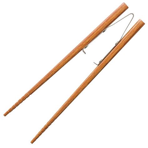 楽々箸 ピンセットタイプ すべり止め 長さ:[小]17cm [介護用食器] フォーライフメディカル