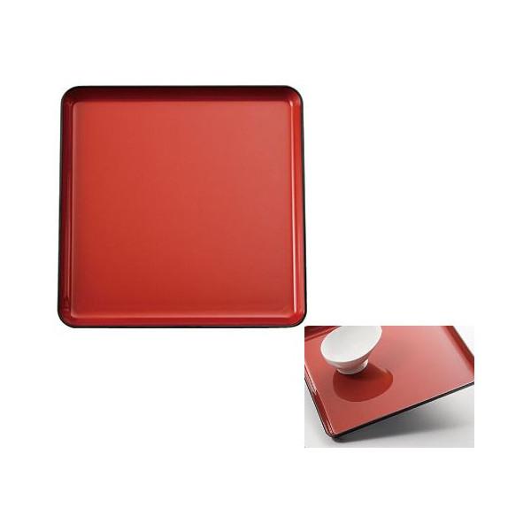 耐熱すべり止めトレー 角盆 カラー:2色 [キッチン用品] フォーライフメディカル
