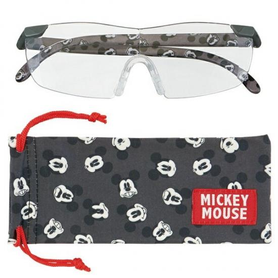 ルーペグラス ミッキー フェイス パターン RG1 491085 拡大鏡 ルーペ めがね 眼鏡 拡大率1.6倍 スケーター(Skater)