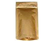 アルミチャック茶袋(ゴールド)小×50枚