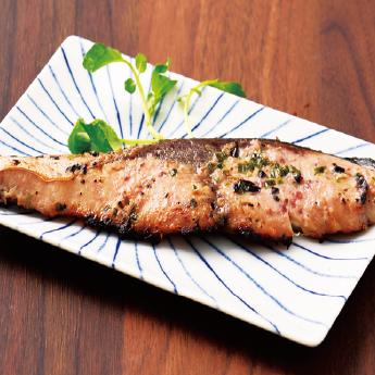 ぶりステーキ(ネギ塩漬け)