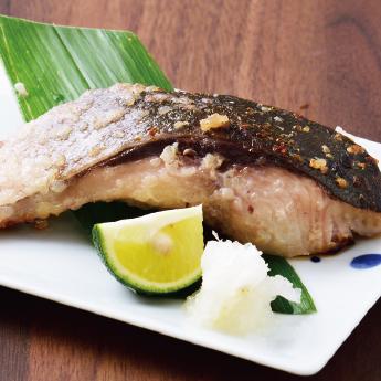 ぶりステーキ(塩麹漬け)