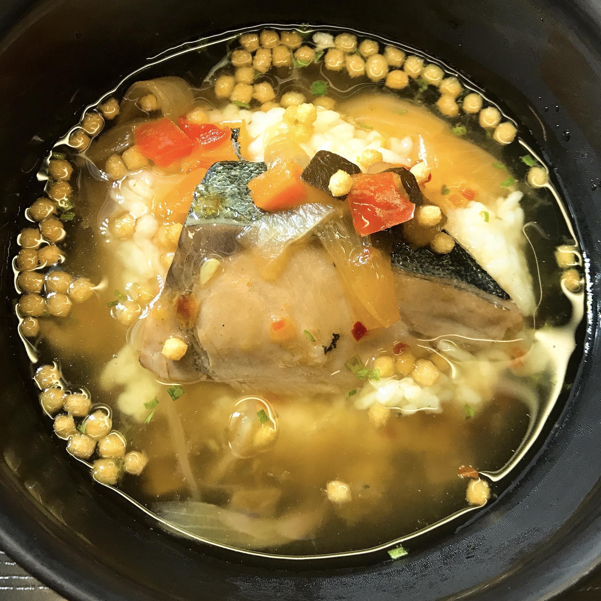 ぶりと野菜の生茶漬け 南蛮イメージ
