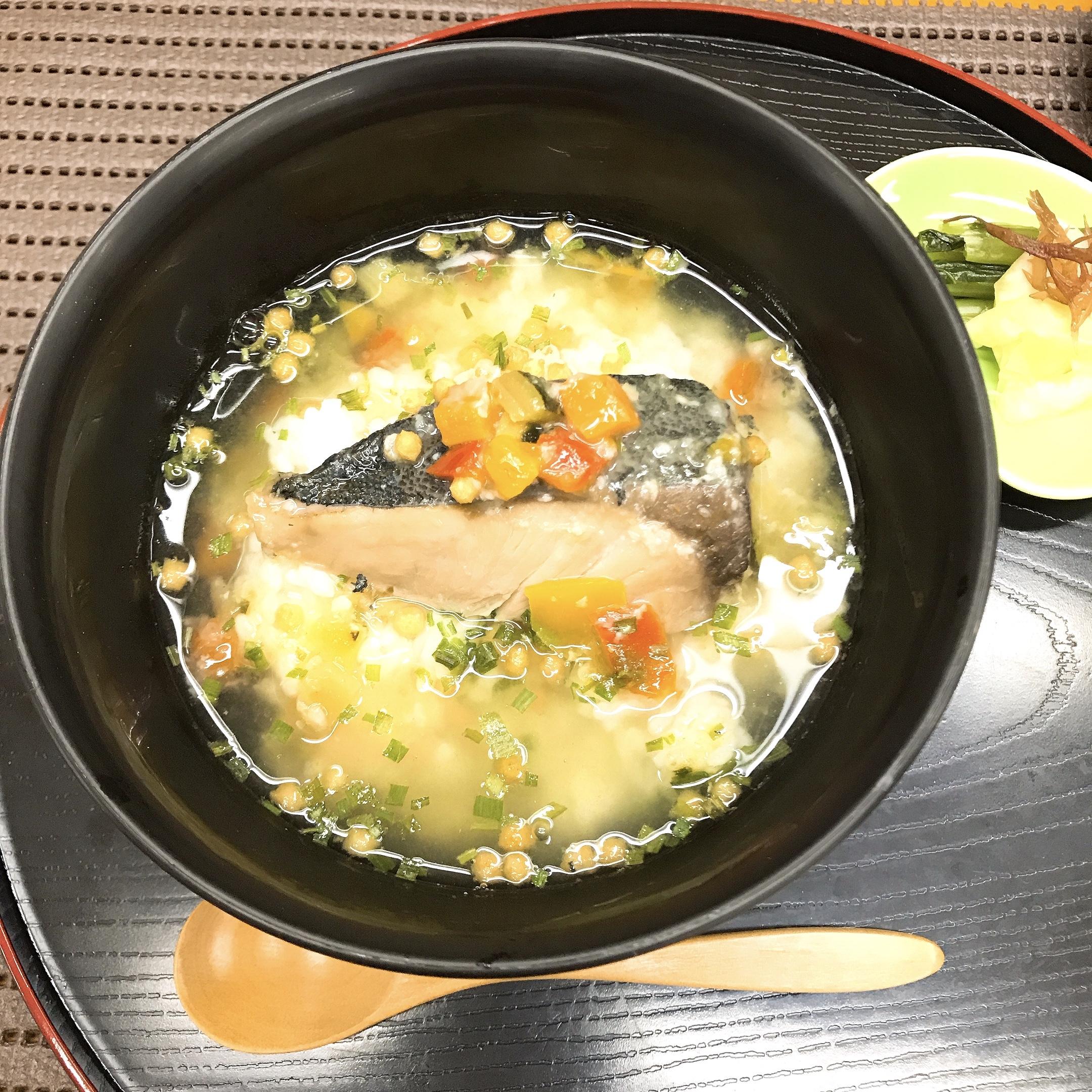 ぶりと野菜の生茶漬け 塩麹イメージ