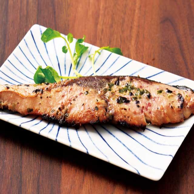 ぶりステーキ ひみ醸熟ぶり ネギ塩漬け