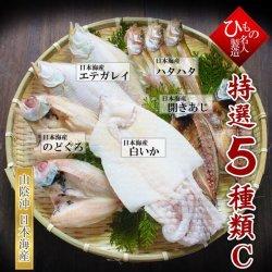 名人の干物5種(のどぐろ入り)詰合-C【送料無料】