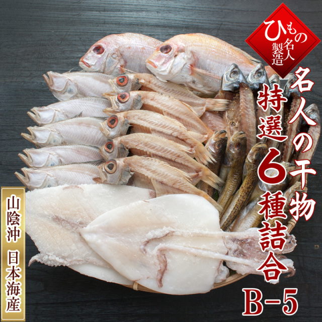名人の干物 6種B5