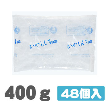 【400g】保冷剤 ナイロンタイプ (140×210) 48個入  NA400<<送料無料>>