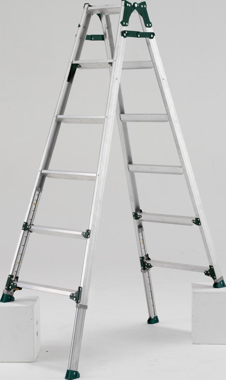 アルインコ(ALINCO)  伸縮脚付はしご兼用脚立 PRT-180FX (伸縮脚441mmタイプ)