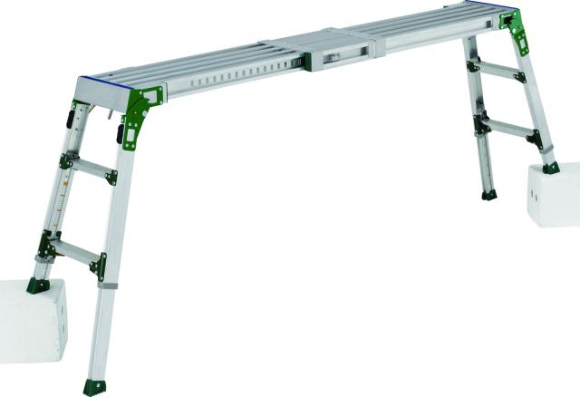 アルインコ(ALINCO)  伸縮天板・伸縮脚付足場台 VSR-1709FX