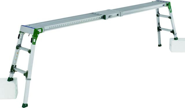 アルインコ(ALINCO)  伸縮天板・伸縮脚付足場台 VSR-2609FX