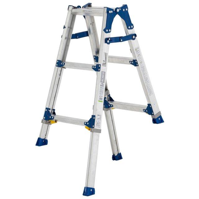 伸縮足付はしご兼用脚立PRE90FX