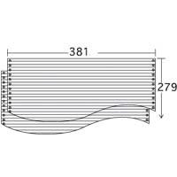 ストックフォーム 15×13 罫線入 (2000枚) 1P ≪送料無料≫