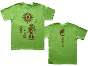 Berimbau(ビリンバウ)Tシャツ-カポエイラはリズムとメロディーの格闘技-ブラジルと日本をTシャツでデザインhinolismo