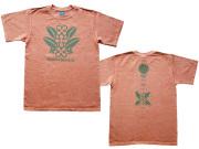 金木犀(キンモクセイ)Tシャツ-花言葉は真実・陶酔-ブラジルと日本をTシャツでデザインするお店hinolismo