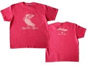 Nipponia Nippon-朱鷺(トキ)Tシャツ-ブラジルと日本をTシャツでデザインするお店hinolismo