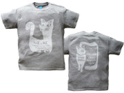 hinolismo-わたしたちの地球に住み続けるなら愛と平和を-gato(ネコ)Tシャツ