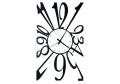 イタリア製壁掛時計 AM00809