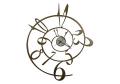 イタリア製壁掛時計 AM0087 ジョージ