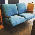 2人掛けデニムソファ anthem sofa