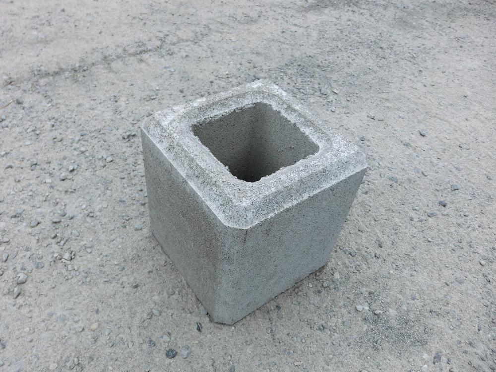 フェンス基礎ブロック 200角×H200  11kg 【送料込】