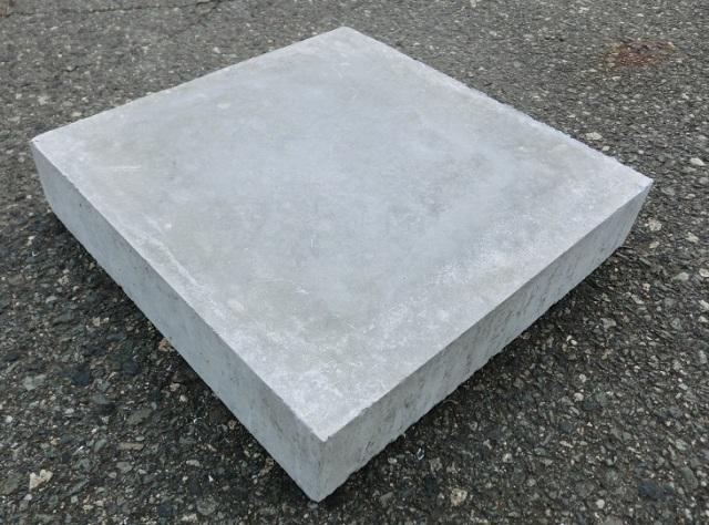 コンクリート平板 300×300×60  13kg  10枚セット 【送料込】