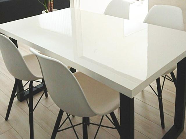 テーブル天板加工