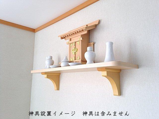 壁掛け神棚の棚板小さいサイズ