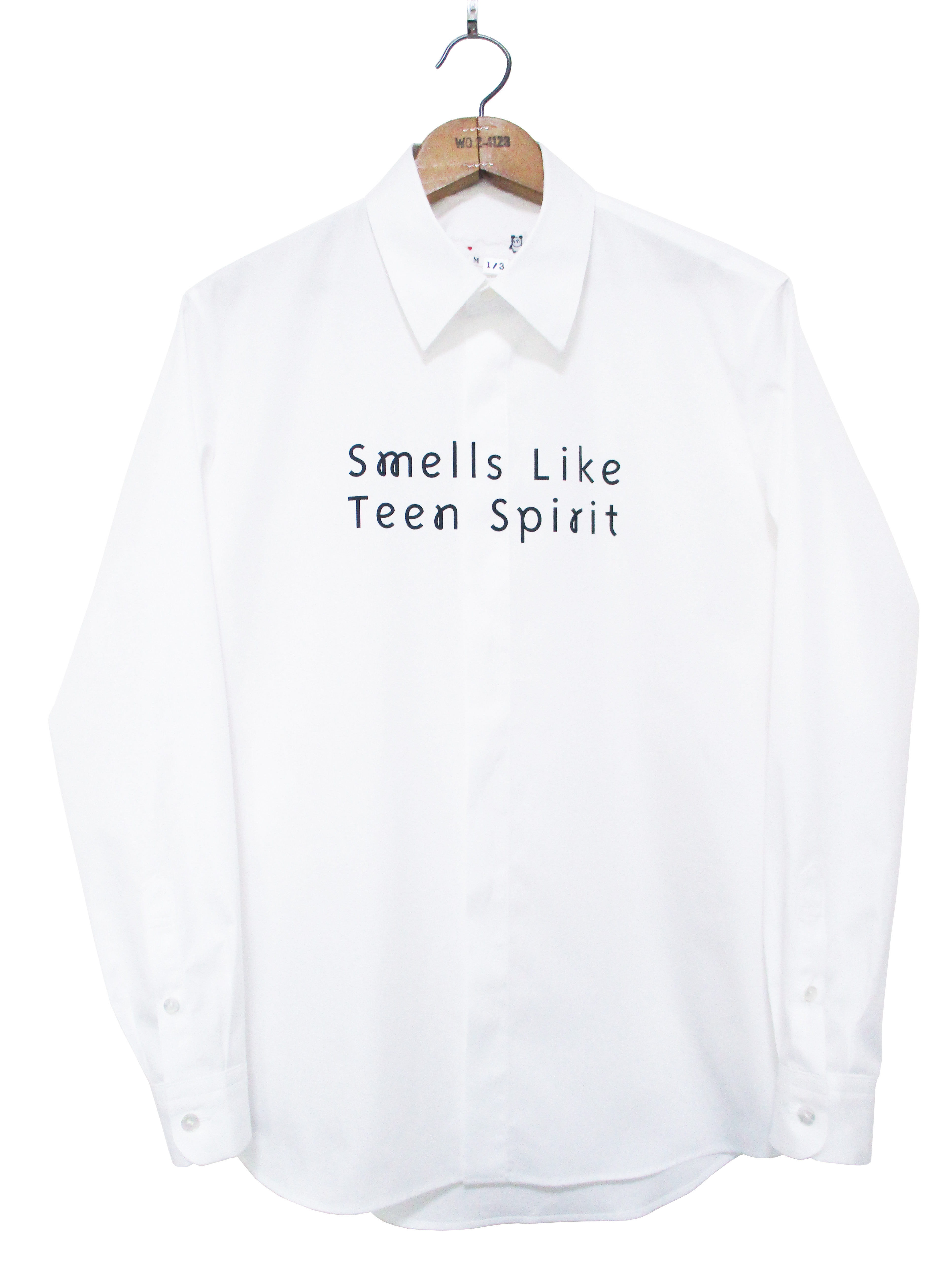 メンズ、ロゴ、メッセージ、長袖、シャツ