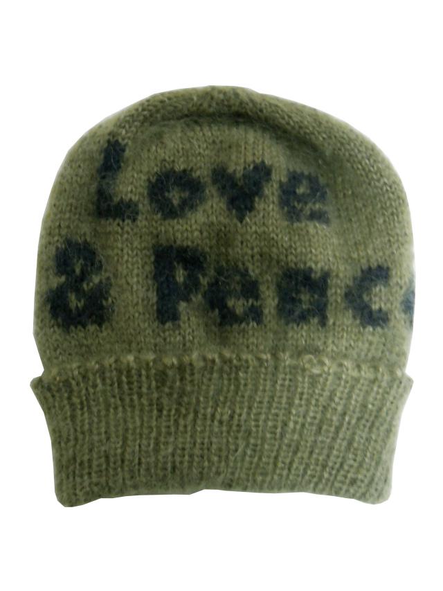 モヘヤ,ロゴ,ジャガード,ニットキャップ,帽子